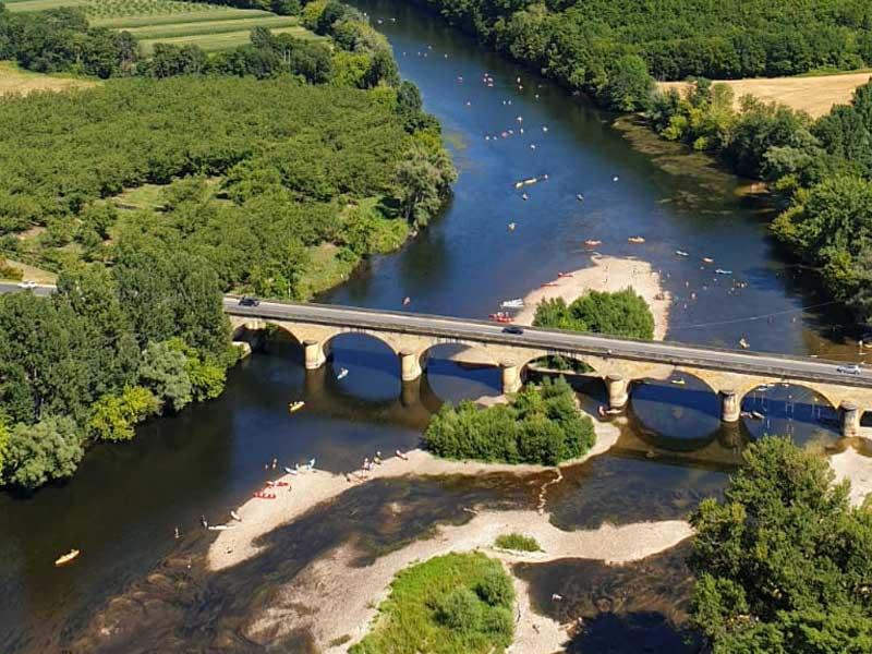 biking Dordogne